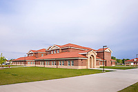 Architectual image of the SFAC & Admin Ops building in Fort Knox Kentucky by Jeffrey Sauers of Commercial Photographics