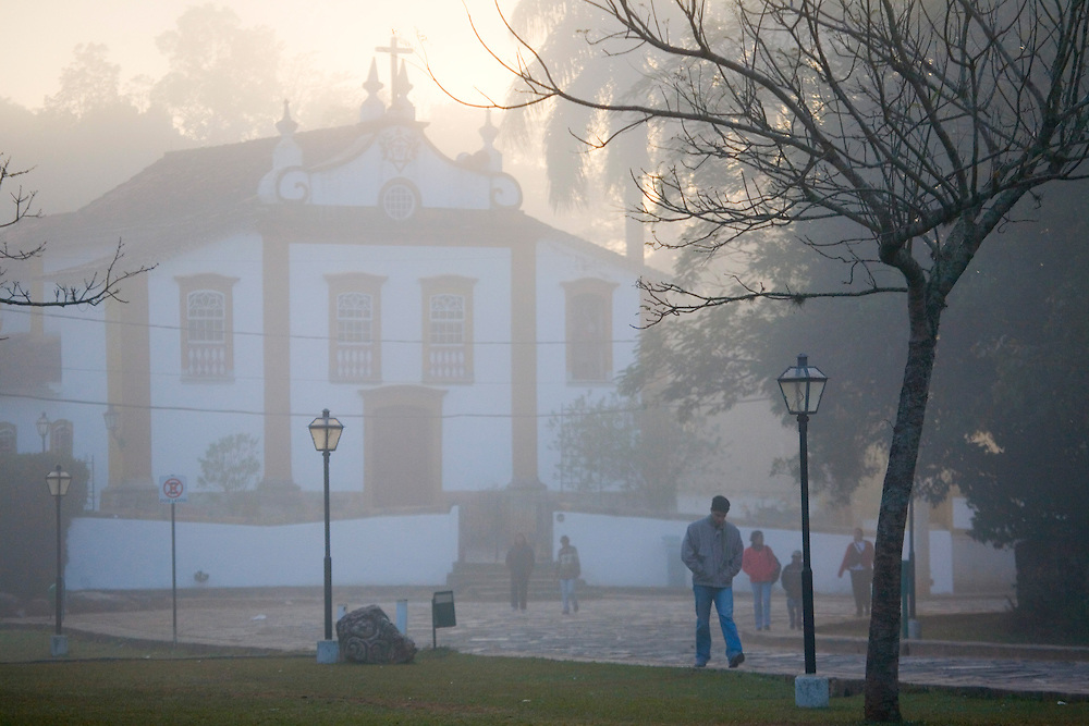Tiradentes_MG, Brasil.<br /> <br /> Igreja Nossa Senhora das Merces em Tiradentes, Minas Gerais.<br /> <br /> Nossa Senhora das Merces in Tiradentes, Minas Gerais.<br /> <br />  Foto: JOAO MARCOS ROSA / NITRO