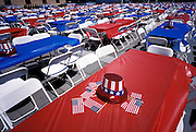 4th of July Party Setup