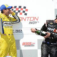 2012 INDYCAR RACING EDMONTON