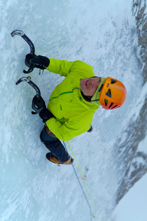 Ice Climbing Twisted Sister
