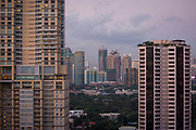 A view of the skyline in downtown Manila, Makati, Metro Manila, Philippines.  (photo by Andrew Aitchison / In pictures via Getty Images)