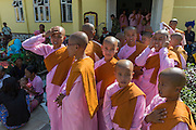 Nuns gather at Festival, Inle Lake