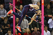 Axel Chapelle (France), Men's Pole Vault, during the European Athletics Indoor Championships 2019 at Emirates Arena, Glasgow, United Kingdom on 1 March 2019.
