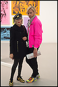 , URSULA HODEL; RAPHAEL HOFSTETTEROpening of Frieze art Fair. London. 14 October 2014