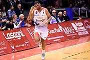 White James<br /> Grissin Bon Pallacanestro Reggio Emilia - Umana Reyer Venezia<br /> Lega Basket Serie A 2017/2018<br /> Reggio Emilia, 08/04/2018<br /> Foto A.Giberti / Ciamillo - Castoria