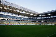 LVIV - UKRAINA, 2017-09-13: Generell vy interi&ouml;r under tr&auml;ning/presskonfernes inf&ouml;r UEFA Europa League group J match mellan Zorya Lugansk och &Ouml;stersunds FK p&aring; Arena Lviv den 14 september, 2017 in Lviv, Ukraina. Foto: Nils Petter Nilsson/Ombrello<br /> ***BETALBILD***