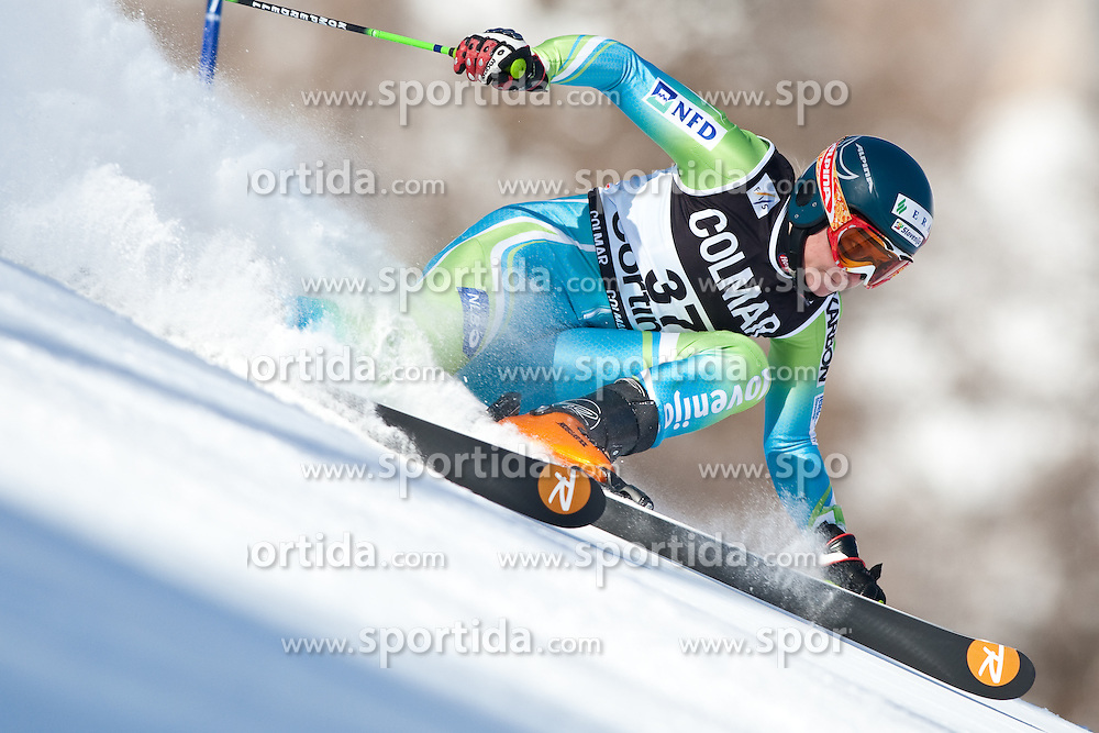FIS Alpine Ski World Cup 2009 Lady, Cortina d Ampezzo Riesenslalom, im Bild DREV Ana, Fiscode 565268, Born 1985, Nation SLO, Ski Rossignol, EXPA Pictures © 2009, Fotographer EXPA/ J. Groder/ SPORTIDA PHOTO AGENCY