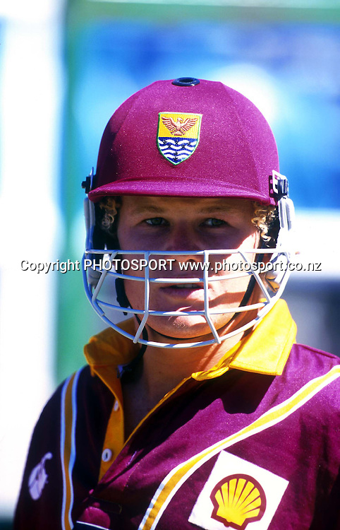 James Marshall. Shell Cup Cricket Final - Northern Knights v Canterbury Wizards, Westpac Trust Park, Hamilton. 24 January 1998. Photo: PHOTOSPORT