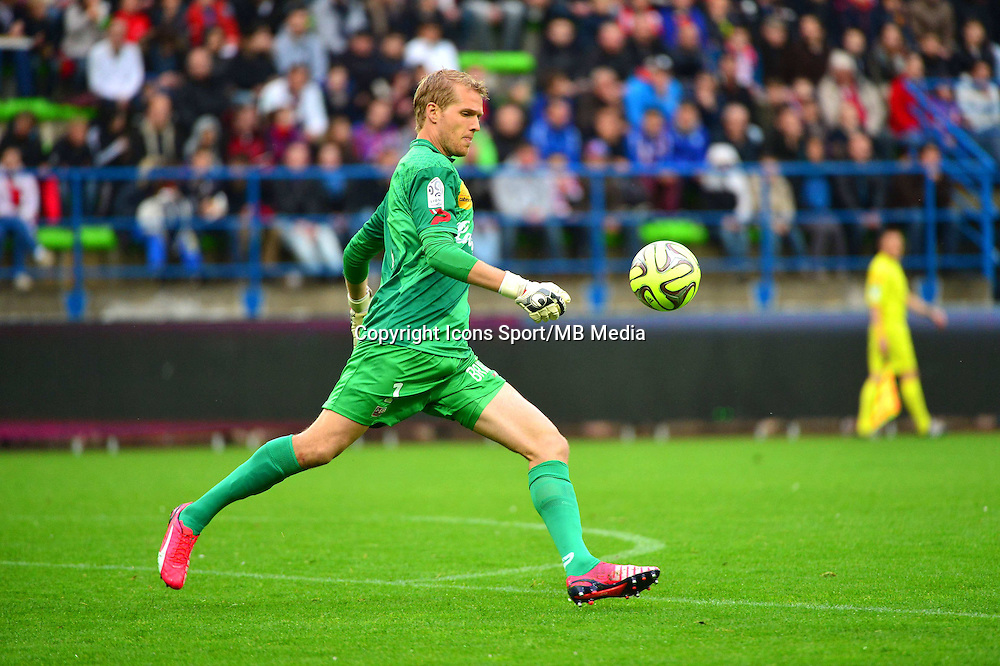 Jonas LOSSL - 25.04.2015 - Caen / Guingamp - 34eme journee de Ligue 1<br /> Photo : David Winter / Icon Sport