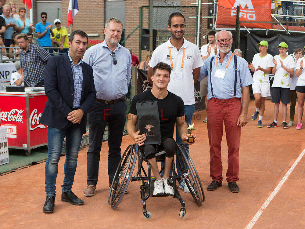 20170730 - Namur, Belgium : Gustavo Fernandez (ARG) won his finale against Nicolas Peifer (FRA) at the 30th Belgian Open Wheelchair tennis tournament on 30/07/2017 in Namur (TC Géronsart). © Frédéric de Laminne