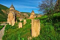 Armenie, province de Vayots Dzor, monastère de Novarank // Armenia, Vayots Dzor province, Novarank monastery