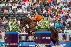 Smolders Harrie, NED, Don VHP Z<br /> World Equestrian Games - Tryon 2018<br /> © Hippo Foto - Stefan Lafrentz<br /> 23/09/2018