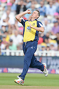 Rikki Clarke during the NatWest T20 Blast semi final match between Northamptonshire County Cricket Club and Warwickshire County Cricket Club at Edgbaston, Birmingham, United Kingdom on 29 August 2015. Photo by David Vokes.