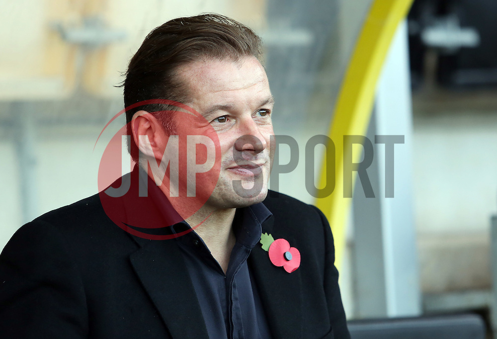 Peterborough United Manager Graham Westley - Mandatory byline: Joe Dent/JMP - 07966 386802 - 07/11/2015 - FOOTBALL - Pirelli Stadium - Burton, England - Burton Albion v Peterborough United - FA Cup = First Round