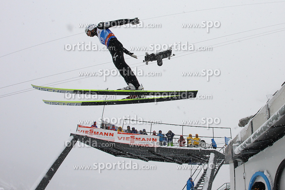 31.12.2011, Olympia Skisprungschanze, Garmisch Partenkirchen, GER, 60. Vierschanzentournee, FIS Ski Sprung Weltcup, Training, im Bild Yuta WATASE (JPN) // Yuta WATASE (JPN) during a practice session of 60th Four-Hills-Tournament FIS World Cup Ski Jumping at Olympia Skisprungschanze, Garmisch Partenkirchen, Germany on 2011/12/31. EXPA Pictures © 2011, PhotoCredit: EXPA/ Sven Kiesewetter