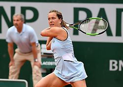 May 27, 2019 - Paris, France, F - Tennis : Roland Garros 2019  -  Barbora Strycova - Republique Tcheque (Credit Image: © Panoramic via ZUMA Press)