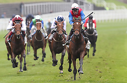 Mehdaayih riden by Robert Havlin wins The Arkle Finance Cheshire Oaks, during Boodles City Day at Chester Racecourse, Chester.