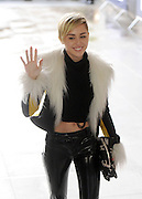 12.NOVEMBER.2013. LONDON<br /> <br /> CODE - EBDB<br /> <br /> MILEY CYRUS ARRIVES AT BBC RADIO ONE, LONDON<br /> <br /> BYLINE: EDBIMAGEARCHIVE.CO.UK<br /> <br /> *THIS IMAGE IS STRICTLY FOR UK NEWSPAPERS AND MAGAZINES ONLY*<br /> *FOR WORLD WIDE SALES AND WEB USE PLEASE CONTACT EDBIMAGEARCHIVE - 0208 954 5968*