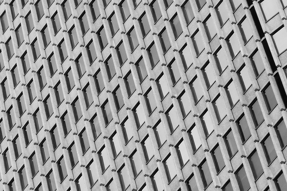 Repetition of building windows NYC 2009