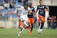 Fotball : Montpellier - Nice - League 1 - 09/18/2016<br /> <br /> JOIE BUT Younes BELHANDA, ogc nice<br /> Norway only