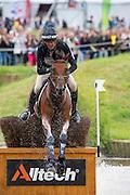 Mark Todd, (NZL), Leonidas II - Eventing Cross - Alltech FEI World Equestrian Games™ 2014 - Normandy, France.<br /> © Hippo Foto Team - Leanjo De Koster