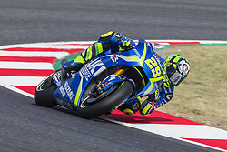 June 9, 2017 - Barcelona, Catalonia, Spain - MotoGP - Andrea Iannone(Ita), Team Suzuki Ecstar during the MotoGp Grand Prix Monster Energy of Catalunya, in Barcelona-Catalunya Circuit, Barcelona on 9th June 2017 in Barcelona, Spain. (Credit Image: © Urbanandsport/NurPhoto via ZUMA Press)