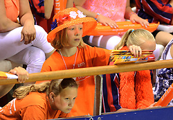 08-06-2014 NED: WLV Nederland - Portugal, Almere<br /> Oranje support, publiek