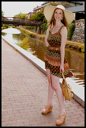 model: Julia Rock<br />