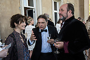 OLIVIA FRASER; WILLIAM DALRYMPLE; RAYMOND BLANC, , Opening of Grange Park Opera, Fiddler on the Roof, Grange Park Opera, Bishop's Sutton, <br /> Alresford, 4 June 2015
