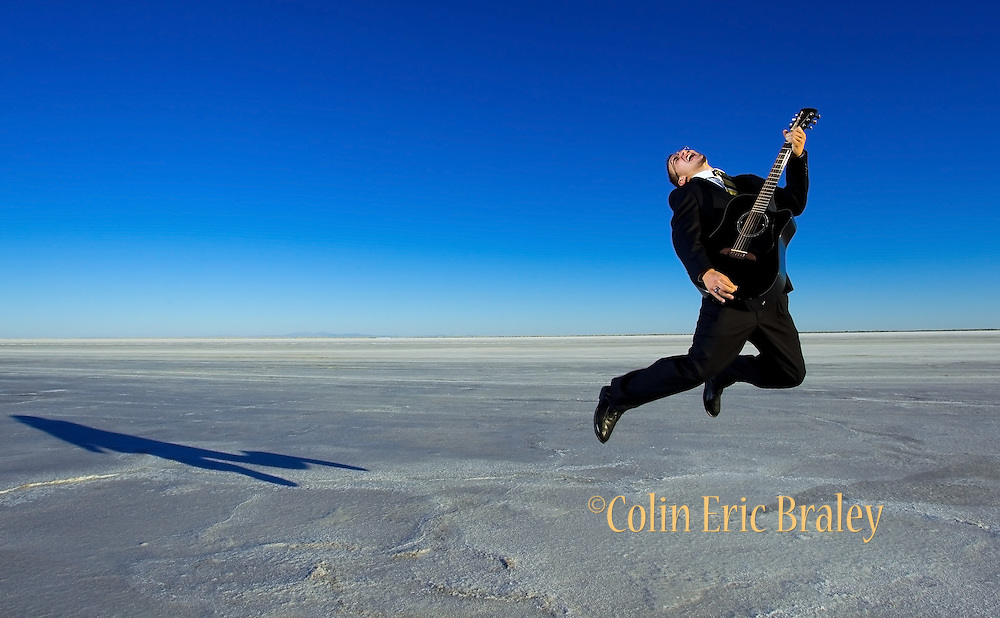 Salt Flats Portrait.  ©COLIN E BRALEY Creative Portrait Photography in Kansas City