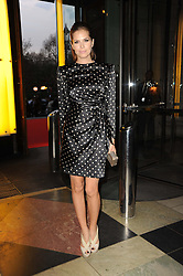 DASHA ZHUKOVA at the opening of the Victoria & Albert Museum's latest exhibition 'Grace Kelly: Style Icon' opened by His Serene Highness Prince Albert of Monaco at the V&A on 15th April 2010.
