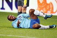 Fotball , 15. oktober 2008 , VM-kvalifisering , Norge - Nederland<br /> Norway - Netherlands 0-1<br /> en skadet Ryan Babel , Nederland
