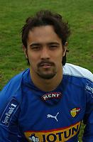 Junichi Yamagisi, Sandefjord portretter 2005. <br /> Portretter 1. divisjon 2005. La Manga 2005. 18. mars 2005. (Foto: Peter Tubaas/Digitalsport).