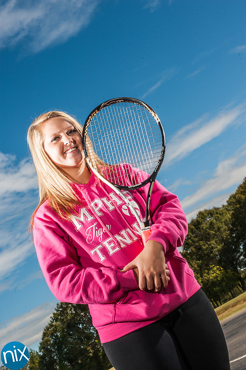 Mount Pleasant tennis player Lindsay Harris