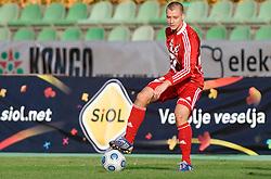 Blaz Bozic of Interblock at football match of 15th Round of Slovenian Prva Liga between NK Interblock and NK Nafta,  on October 28, 2009, in ZAK, Ljubljana, Slovenia.   (Photo by Vid Ponikvar / Sportida)