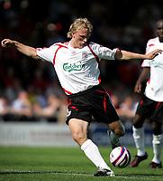 Photo: Paul Thomas.<br />Crewe Alexandra v Liverpool. Pre Season Friendly. 14/07/2007.<br /><br />Dirk Kuyt of Liverpool.