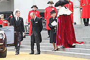 Baroness Margaret Thatcher - funeral guests