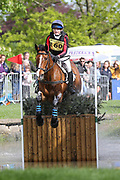 Chloe Bell riding Javas Spice during the International Horse Trials at Chatsworth, Bakewell, United Kingdom on 13 May 2018. Picture by George Franks.