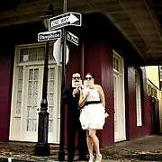 New Orleans Wedding Photographer<br /> Destination Wedding Photo Album<br /> Photos of couple getting married in New orleans 2012 - 1216Studio.com