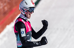 14.03.2019, Granasen, Trondheim, NOR, FIS Weltcup Skisprung, Raw Air, Trondheim, Einzelbewerb, Herren, im Bild Andreas Stjernen (NOR) // Andreas Stjernen of Norway during the men's individual competition of the 3rd Stage of the Raw Air Series of FIS Ski Jumping World Cup at the Granasen in Trondheim, Norway on 2019/03/14. EXPA Pictures © 2019, PhotoCredit: EXPA/ JFK