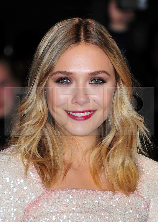 """© Licensed to London News Pictures. 21/10/2011. London,England. Elizabeth Olsen attends the UK Premiere of """"Martha Marcy May Marlene"""" at  the 55th British Film Festival in Leicester square London  Photo credit : ALAN ROXBOROUGH/LNP"""