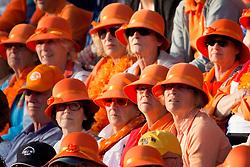 THE HAGUE - Rabobank Hockey World Cup 2014 - 2014-06-10 - MEN - NEW ZEALAND - THE NETHERLANDS -  oranje bolhoedjes.<br /> Copyright: Willem Vernes