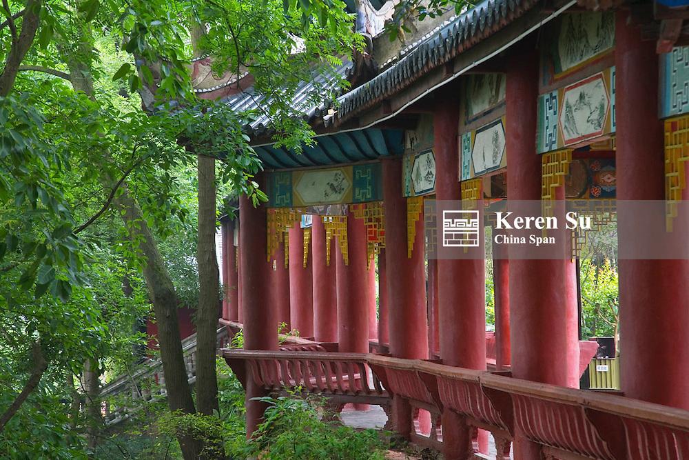 Inside Ghost Temple, Fengdu, Sichuan, China