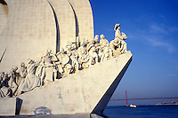 Monument to the Discoveries at night - Belem - Lisbon - Portugal