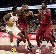 Cleveland Cavaliers v Indiana Pacers - 1 Nov 2017