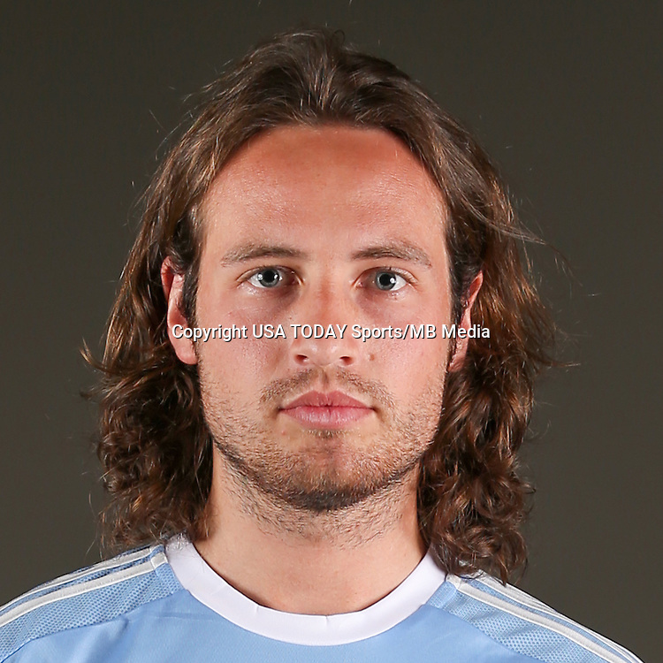 Feb 25, 2016; USA; New York City FC player Mix Diskerud.JPG poses for a photo. Mandatory Credit: USA TODAY Sports