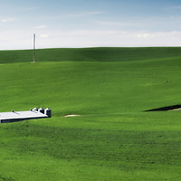 The green hills of the Palouse, Eastern Washington.