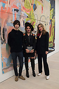 THEO ELLISON; MONA OSMAN; ALIDA CERVANTES, Opening of Known Unknowns, Saatchi Gallery, Chelsea. London. 20 March 2018