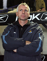Photo: Paul Thomas.<br /> Bolton Wanderers v West Ham United. The Barclays Premiership. 09/12/2006.<br /> <br /> Alan Pardew, a not so happy manager of West Ham.